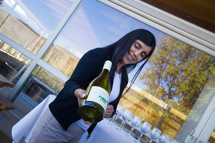 Time to taste a delightful Gewürztraminer from Matetic vineyards, Leyda Valley, Chile © Claudio F. Vidal, Far South Exp