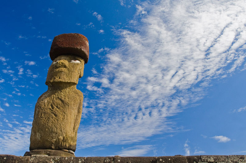 Easter Island moai, Rapa Nui © Claudio F. Vidal, Far South Expeditions